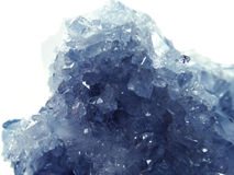 Celestite geode geological crystals Royalty Free Stock Photos