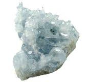 Celestite geody geological kryształy Zdjęcia Stock