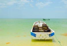 Celestun Beach, Yucatan, Mexico Stock Image