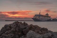 Celestyal Olympia Luxury Cruise Liner fotografía de archivo