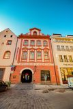 Celetna gata i Prague, Tjeckien royaltyfri bild