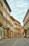 Celetna street Prague, czech republic. Royalty Free Stock Photography