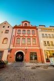 Celetnastraat in Praag, Tsjechische Republiek royalty-vrije stock afbeelding