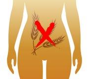 Celiac заболевание иллюстрация вектора
