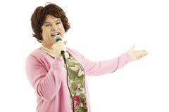 Celibrity Female Impersonator Stock Image