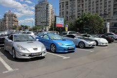Celica samochody Zdjęcia Stock
