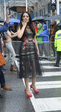 Celina Jaitly in Toronto's 35th annual Pride parade Stock Images