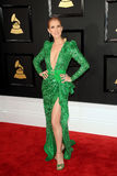 Celine Dion. At the 59th GRAMMY Awards held at the Staples Center in Los Angeles, USA on February 12, 2017 Royalty Free Stock Images
