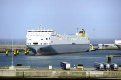 Celine Ro-Ro cargo Transporter ships taking on the cargo