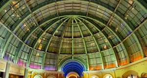 Celing of a Mall. The exclusive ceiling of a Emirates Mall in Dubai. World's third largest mall Stock Images