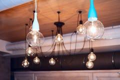 Celings-Designlampen lizenzfreie stockfotografie