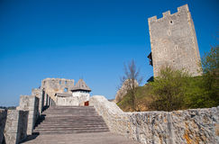 Celje castle, Slovenia. Celje castle is one of the tourist attraction in the town, Slovenia Royalty Free Stock Photos