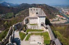 Celje castle, Slovenia Stock Photo