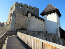 Celje Castle in Slovenia Royalty Free Stock Photography