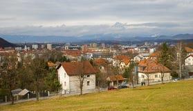 Celje city, Slovenia Royalty Free Stock Photos