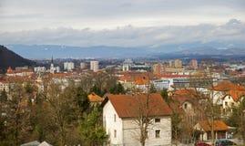 Celje city, Slovenia Stock Photography