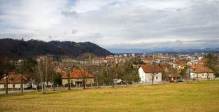 Celje city, Slovenia Stock Photos