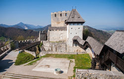 Celje-Schloss, Slowenien Stockfoto