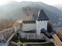Celje slott i Slovenien Royaltyfri Fotografi