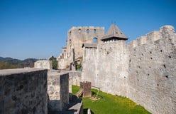 Celje slott, Slovenien Arkivbilder