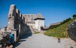 Celje slott, Slovenien Royaltyfria Bilder