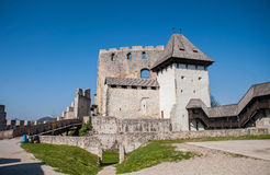 Celjekasteel, Slovenië Royalty-vrije Stock Afbeeldingen