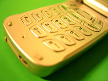 Cell 2. Close up of cell phone button pad. focus mostly in the center royalty free stock photo