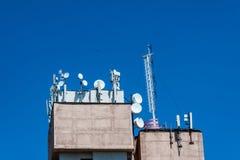 cell- antenn Royaltyfri Bild