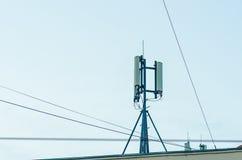 cell- antenn Royaltyfri Fotografi