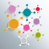 Cell art background. Vector. Stock Photo