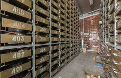 Cell automatic parts warehouse Royalty Free Stock Images