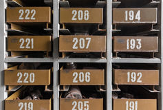 Cell automatic parts warehouse Stock Photography