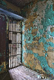Cell block of the inside of an old prison. No longer in use Royalty Free Stock Photography