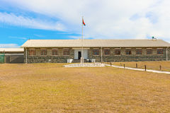 Cell block on Robben Island off the coast of Cape Town, Western Stock Photography