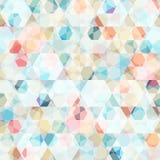 Cell diamond seamless pattern Stock Photo