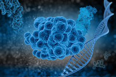 Cell division virus Royalty Free Stock Images
