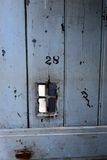 Cell door of antique prison Royalty Free Stock Photography