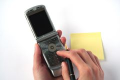 Cell fone. Royalty Free Stock Image