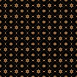 Cell, grid with diagonal lines seamless background and flowers. Cell, grid with diagonal lines and flowers seamless background, pattern. Tiles. Latticed Stock Illustration