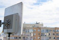 Cell- grundstation för antenn Arkivfoton