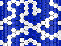 Cell hexagon background Royalty Free Stock Photos
