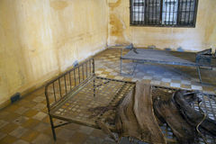 Free Cell In Tuol Sleng  (S21) Prison Stock Photography - 42607562