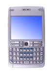 cell isolerad telefon royaltyfri foto