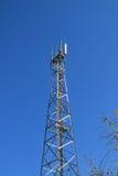 cell- kommunikationstorn Fotografering för Bildbyråer