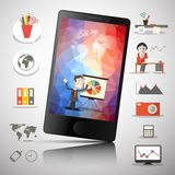 Cell Mobile Phone Vector Illustration Royalty Free Stock Image
