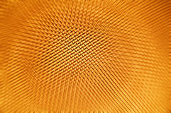 Cell motion background. Abstract gold cell background in motion Royalty Free Stock Photography