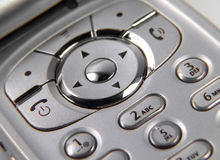 Cell Phone. Photo of Cell Phone Buttons stock photo