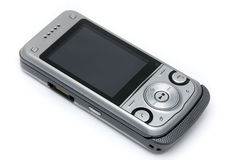 Cell phone. On a white background Royalty Free Stock Photography