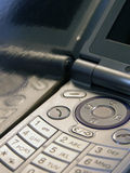 Cell Phone. Detail of push buttons royalty free stock photography
