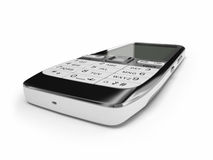 Cell phone. A closeup of cell phone Royalty Free Stock Image